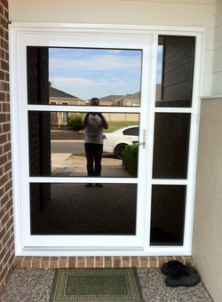 Feature entrance door - outside view