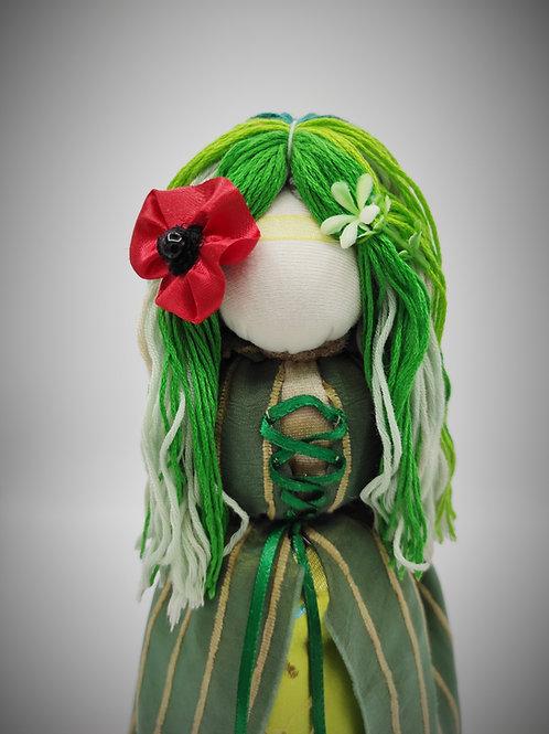 Poupée Mavka personnage mythologique du Chant de la Forêt