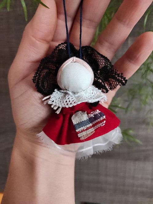 Mini Alsatian lucky charm with a kelsch heart