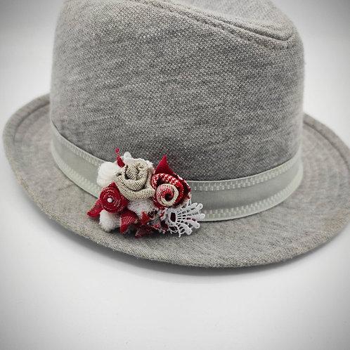 Broche - Barrette de cheveux Kelsch et Roses
