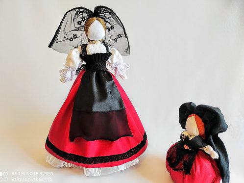 Alsatian lucky doll
