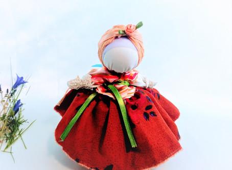 Motanka, poupée de collection,art décoratif, talisman porte-bonheur