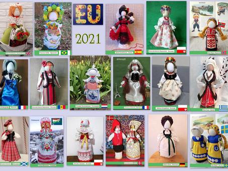 Les poupées parcourent le monde