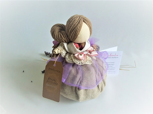 Scented lucky charm for birth