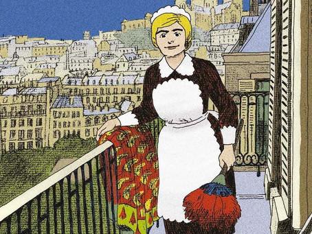 Finnele, roman graphique  par Anne  Teuf : histoire d'une femme en Alsace des 2 guerres mondidales