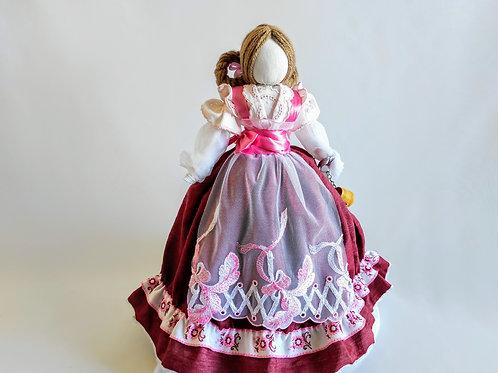 Lucky doll in dirndl dress