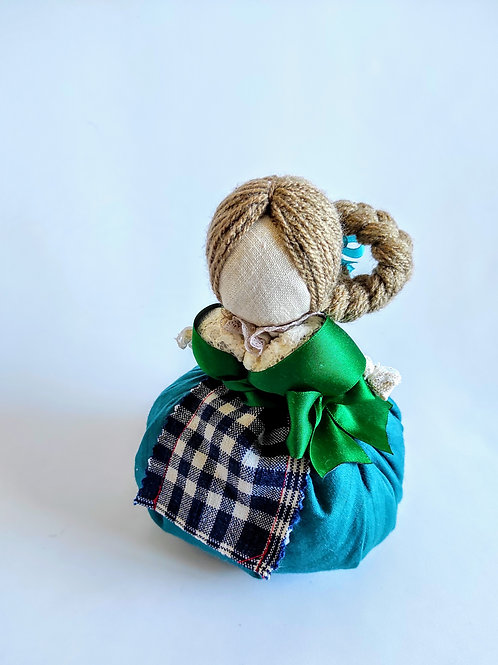 Lucky charm scented in dirndl dress