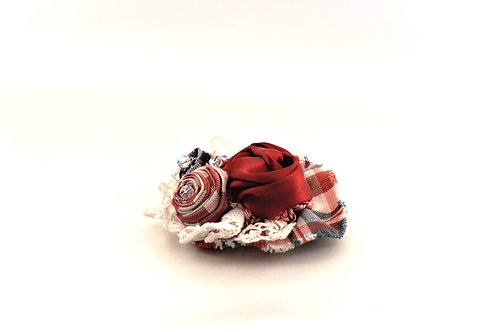 Broche Kelsch et Roses