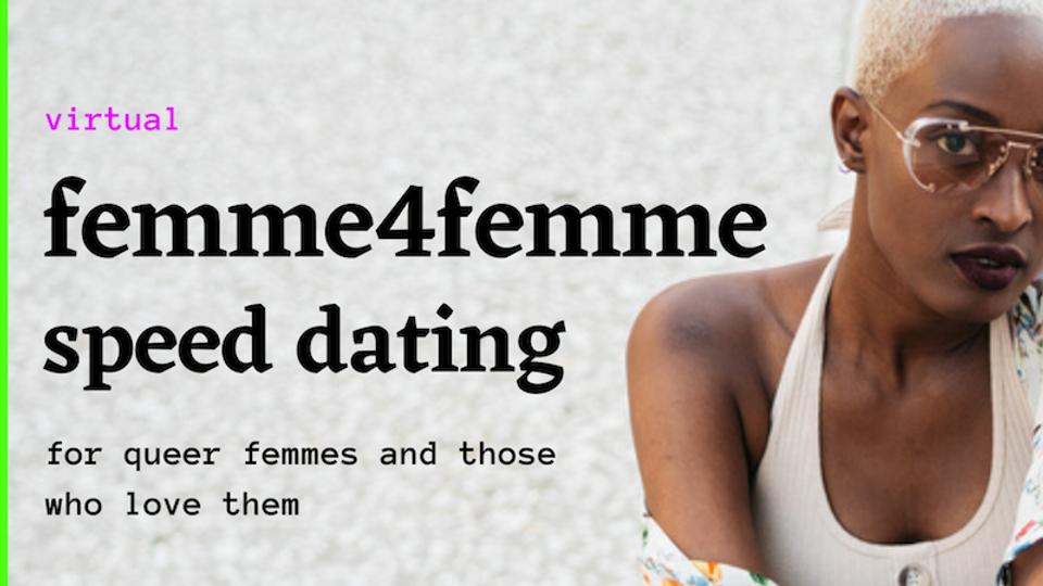 Femme4Femme Queer Speed Dating_Solstice2