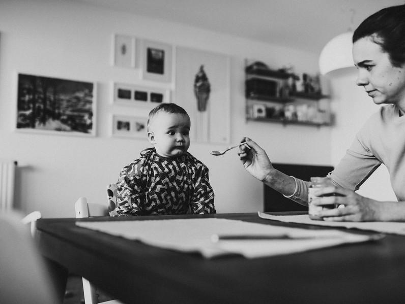 Authentische Babyfotografie