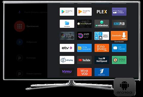 Российское iptv телевидение на Андроид ТВ