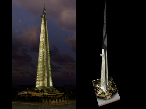 Jeddah City Architectural Model