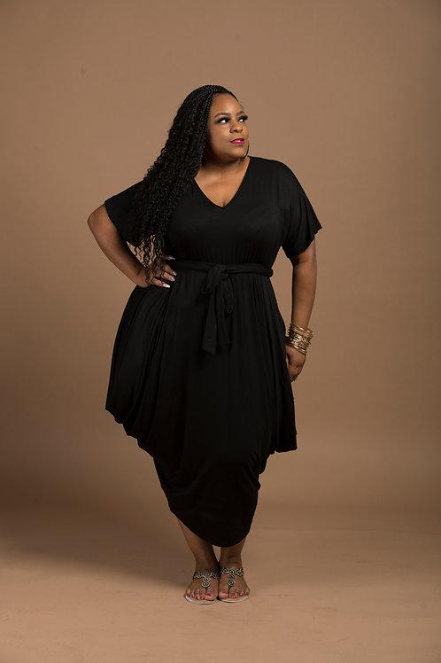 Black Droop Dress
