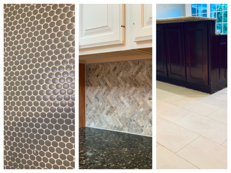 Backsplash, Shower, and Floor, Oh My!