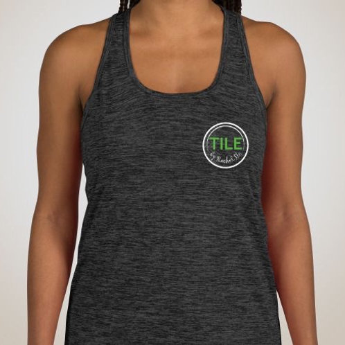 Sport-Tek Women's Electric Heather Racerback Tank