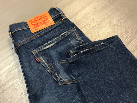 LEVIS® 502 〈あたり加工〉