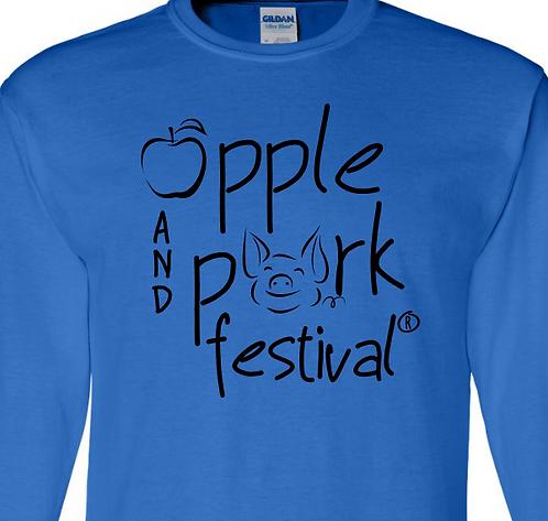 2019 Apple and Pork Festival® Piggie Long Sleeve Shirt