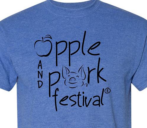 2019 Apple and Pork Festival® Piggie Shirt