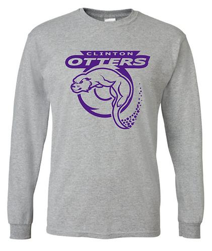 Otters - Single Color Long Sleeve