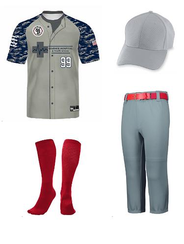 Uniform 8U-12U-Shirt,Hat,Socks,Pants (NO BELT)