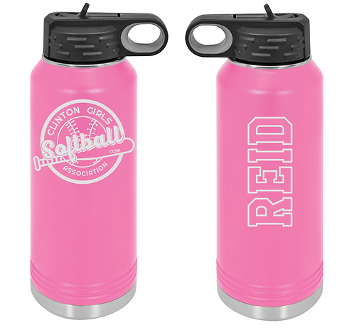 Engraved Stainless Steel Water Bottle