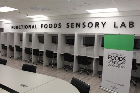 Functional Foods Sensory Lab - Training Table