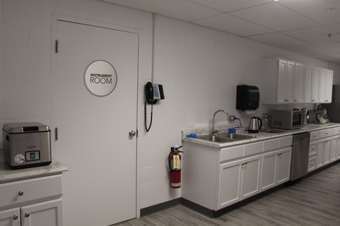 Functional Foods Sensory Lab - Kitchen Area