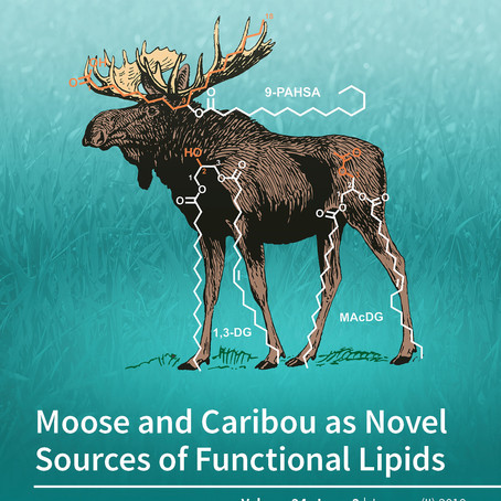 Moose and Caribou as Novel Sources of Functional Lipids