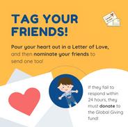 Social Media for Letters of Love