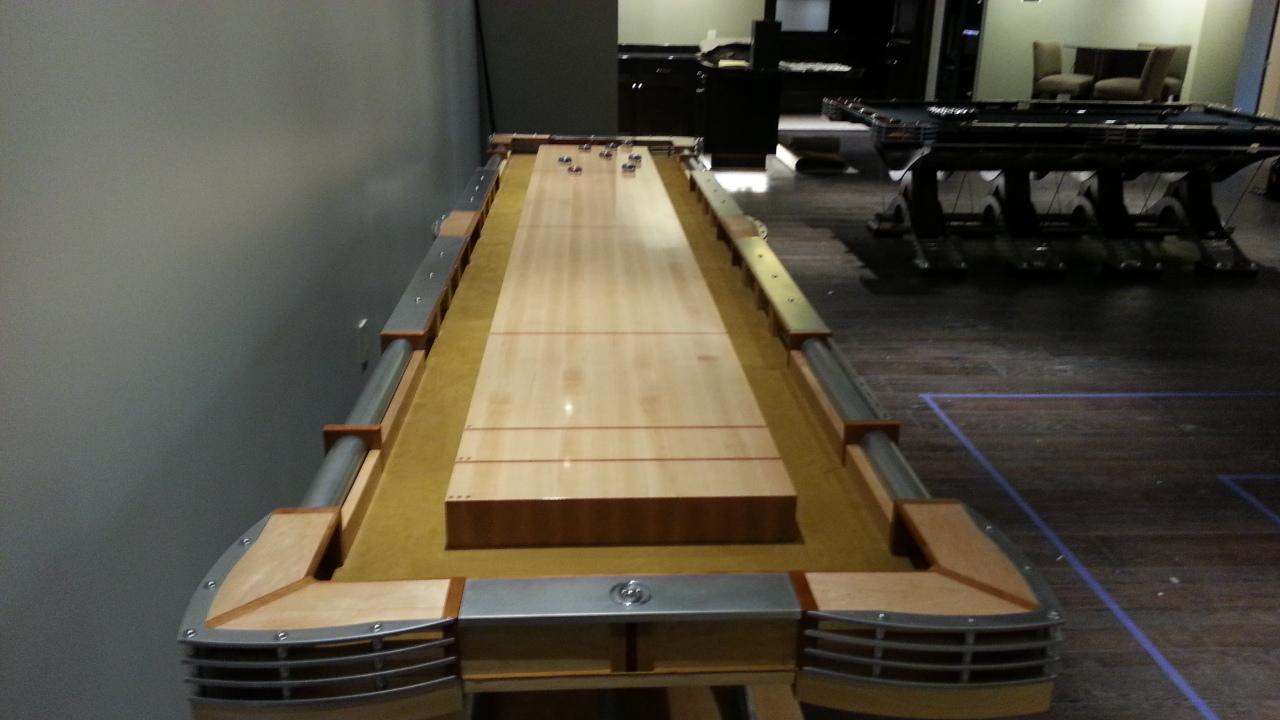 The Predator Shuffleboard