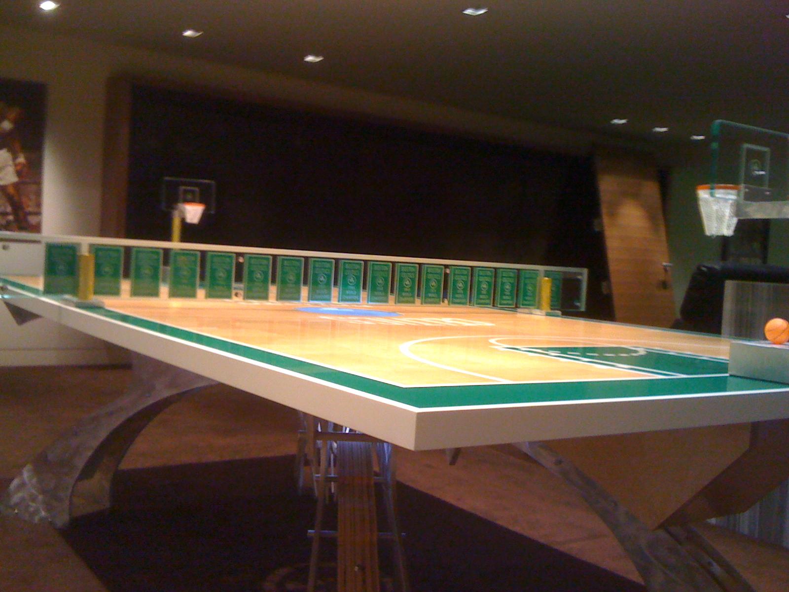 Basketball Ping Pong Table