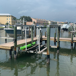 Install of Pilings