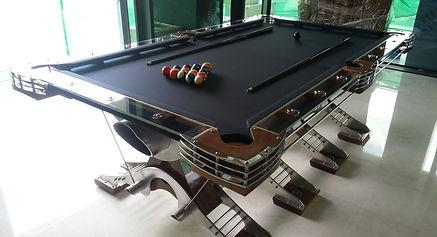 Hurricane Custom Billiards Pre Designed Pool Tables