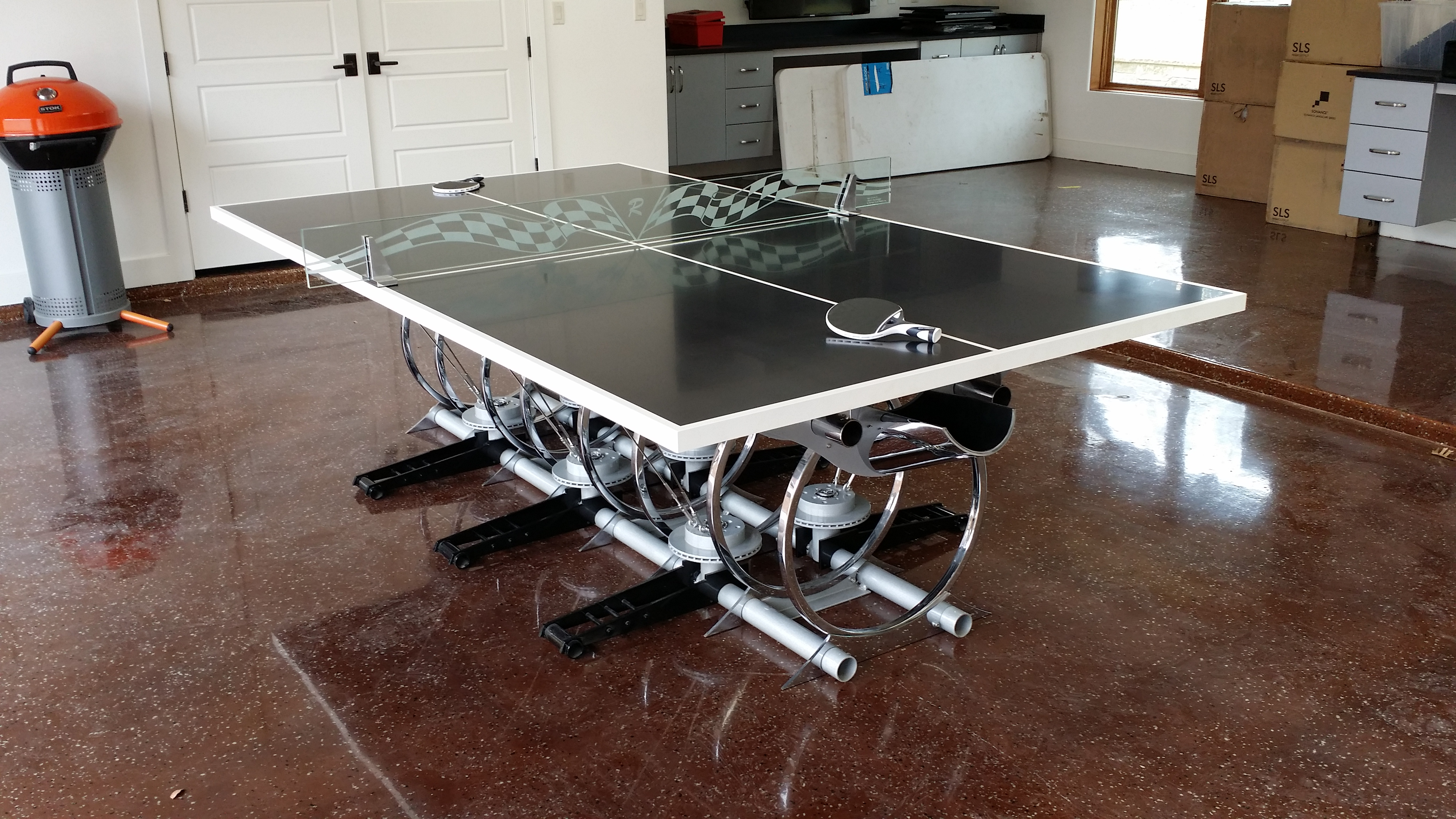 Automaniac Ping Pong Table #1!