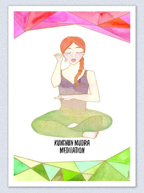 Kunchun Mudra Meditation, La Kundalinera:.