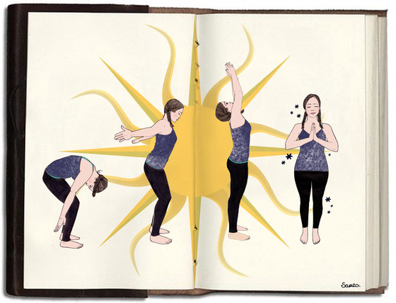 About the Sun Salutations:.