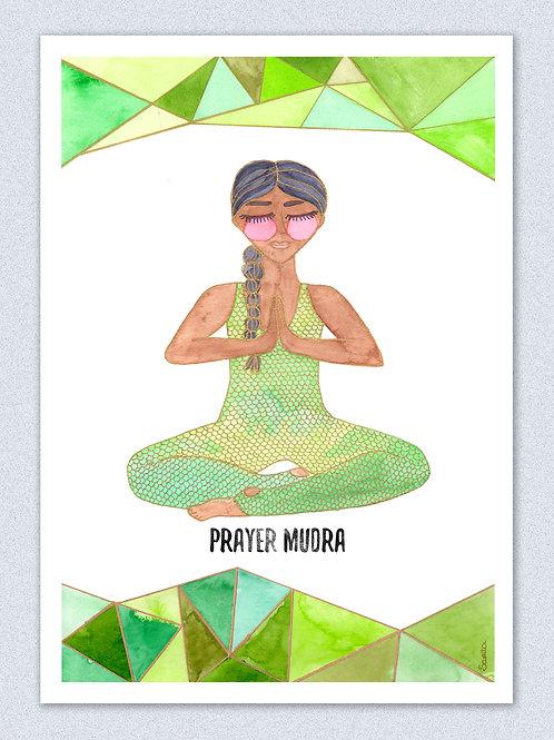 Prana Mudra - Prayer Pose, La Kundalinera:.