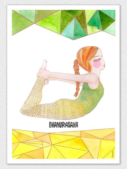 Dhanurasana Blond, La Kundalinera:.