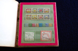 'Postage stamps', 1955