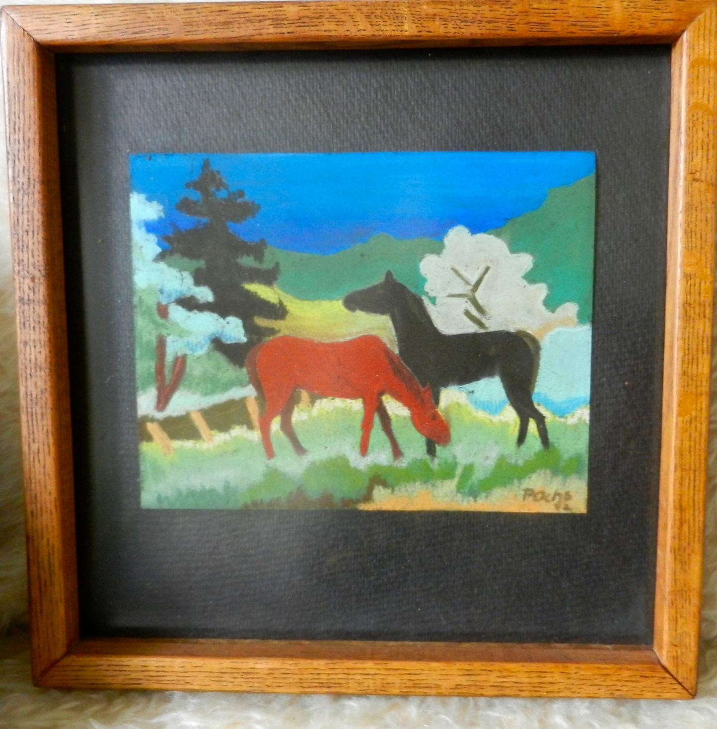 Horses, 1955