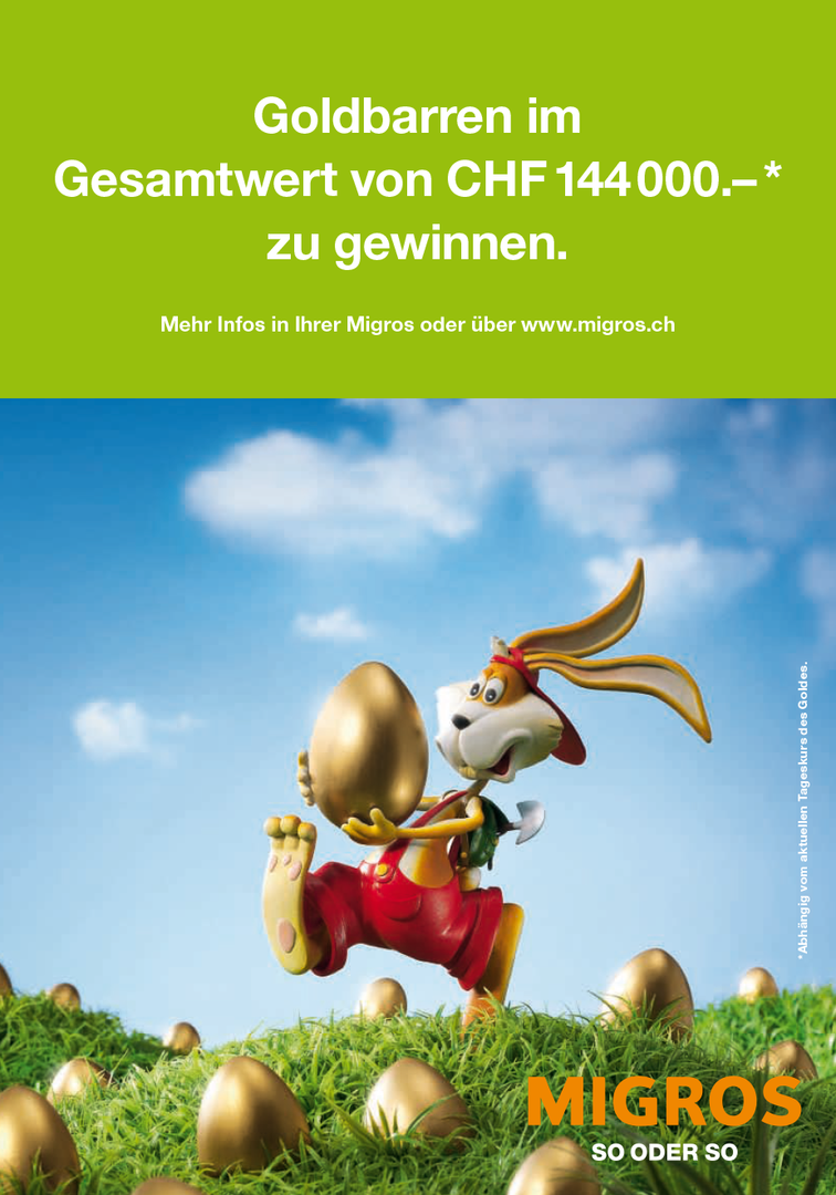 MIGROS EASTER PROMOTION