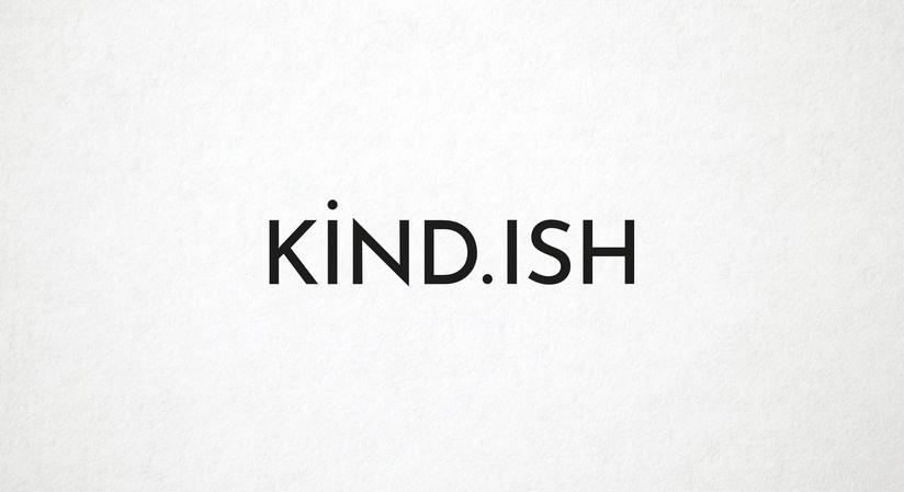 KIND.ISH Logo Type
