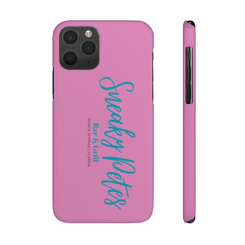 Slim Phone Cases - Pink