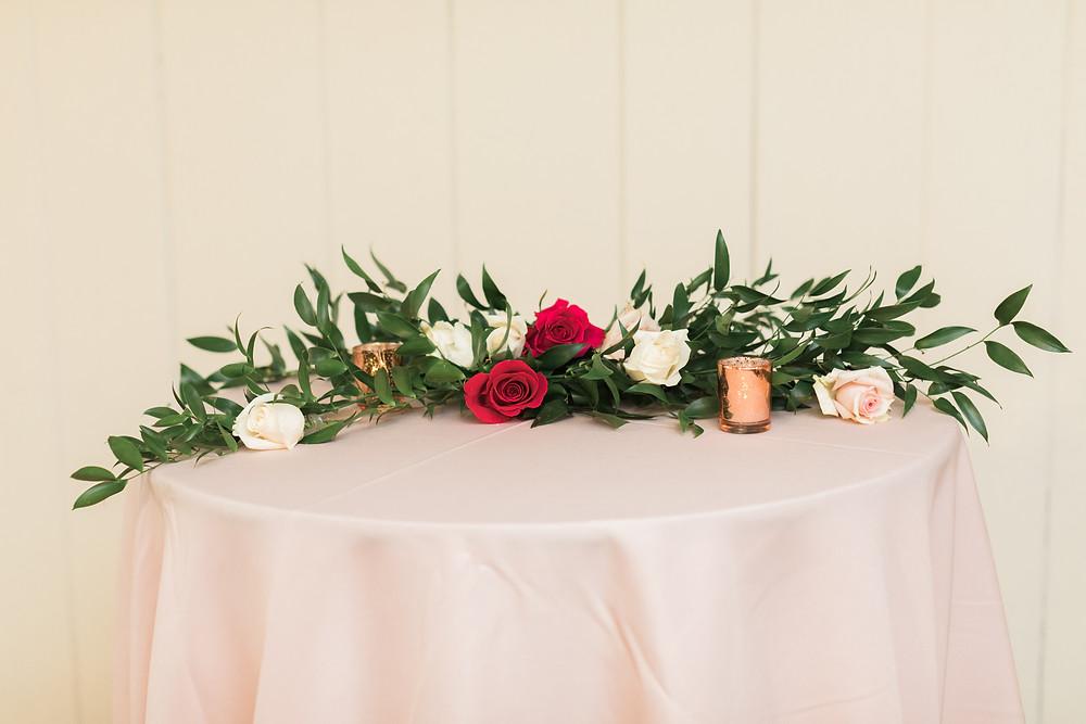 Madison Hill Chapel | Monroe, WA Wedding Venue | Magenta & Blush Wedding Floral Inspiration