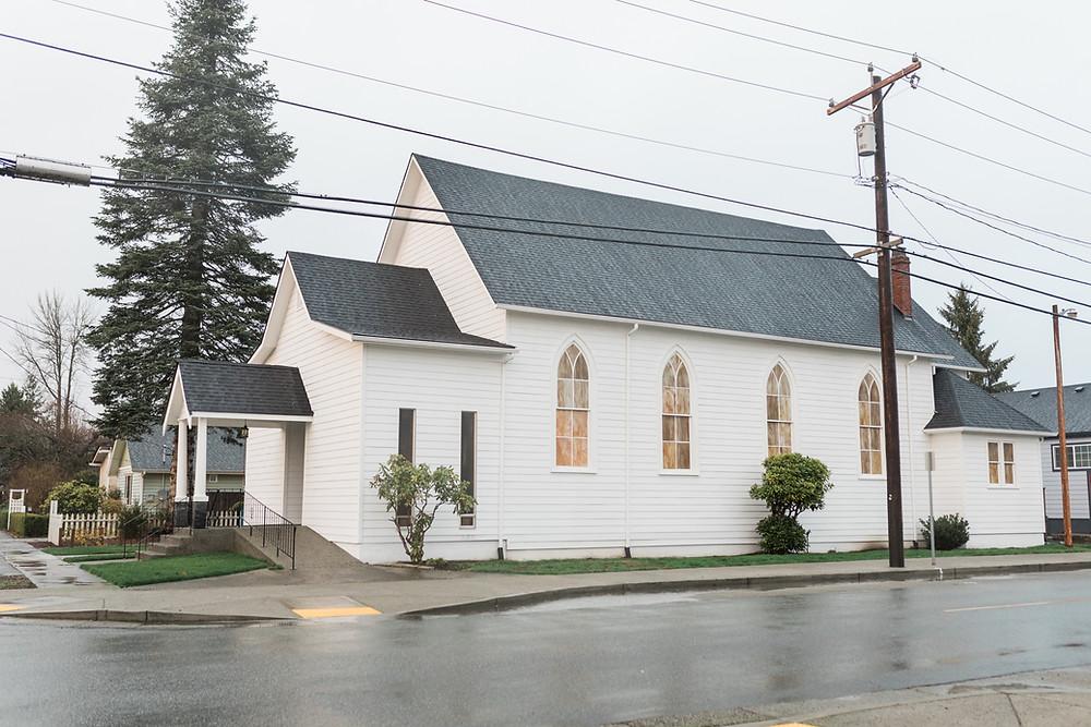 Madison Hill Chapel | Monroe, WA | Magenta & Blush Wedding Floral Inspiration