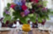 Snohomish Wedding Photographer | Jewel Tones Wedding Flower