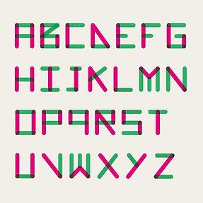 Cité scolaire Raymond Loewy - typographie