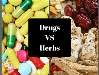 Drugs VS Herbs. What is the better choice?