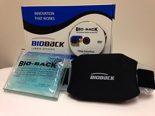 """BioBack HC - with Hot/Cold Therapy (Standard 22-50"""" or Large 51-70"""")"""