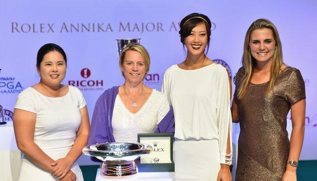 Annika+Sorestram+Evian+Championship+Golf